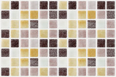 Mosaic marble tiles colored square Stock Photo