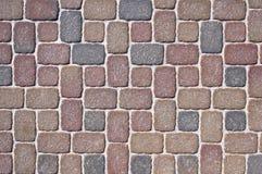 Mosaic modern pavement background Royalty Free Stock Image