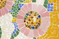 Mosaic. Modernist art (also called Art Deco) Royalty Free Stock Images