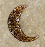 Mosaic of moon Royalty Free Stock Images