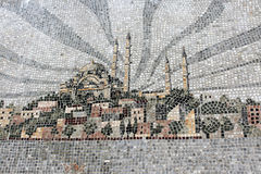 Mosaic mosque Royalty Free Stock Images