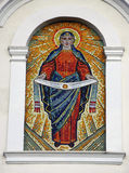 Mosaic of most Holy our Lady Stock Images
