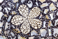 Mosaic from nacre. Natural; texture Mosaic from nacre Stock Images
