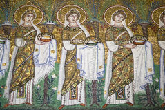 Mosaic the New Basilica of Saint Apollinaris Royalty Free Stock Images
