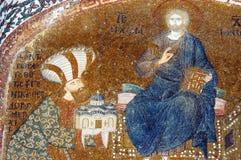 Mosaic Of Theodore Metochites, Chora, Istanbul Stock Photography