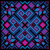 Mosaic ornamental background Stock Photo