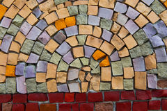 Mosaic at the Palace of Sports Stock Images
