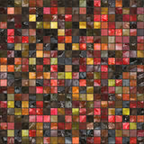 Mosaic pattern Stock Photography