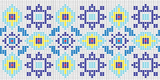 Mosaic pattern Royalty Free Stock Photos