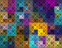 The mosaic pattern. Abstract background Royalty Free Stock Photos