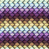 Mosaic pattern with decorative elements Stock Photography