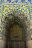 Mosaic pattern of Imam mosque in Esfahan Royalty Free Stock Photo