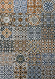 Mosaic pattern tile. For decoration Royalty Free Stock Photo