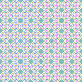 Mosaic pattern. Vector multicolor seamless mosaic pattern Stock Image