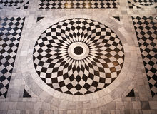 Mosaic patterned floor Royalty Free Stock Image