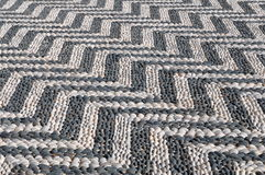 Mosaic pavement Royalty Free Stock Image