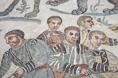 Mosaic of Piazza Armerina Royalty Free Stock Images
