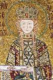 Mosaic picture in Hagia Sophia Stock Photo