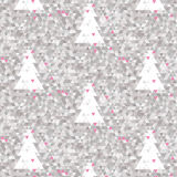 Mosaic pink background. Mosaic background with pink triangles Royalty Free Stock Photos