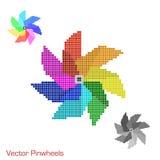 Mosaic Pinwheels Royalty Free Stock Image