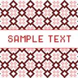Mosaic pixels Stock Images