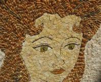 Mosaic portrait Stock Images