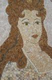 Mosaic portrait Royalty Free Stock Image