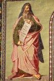 Mosaic of the Prophet Isaiah Stock Photos