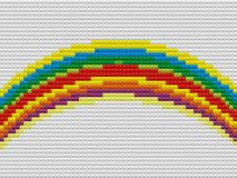 Mosaic rainbow Stock Photography
