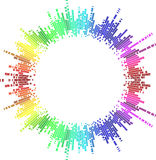 Mosaic Rainbow Circle Royalty Free Stock Images