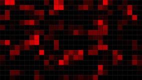 Mosaic random moving stock video footage