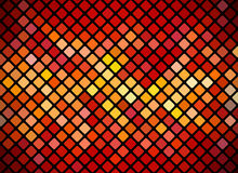 Mosaic Red Background Stock Photos