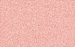 Mosaic red color pattern.Abstract  background. Royalty Free Stock Photos
