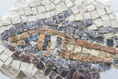 Mosaic, Roman remains Royalty Free Stock Photography