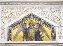 Mosaic of Saint Michael Royalty Free Stock Images