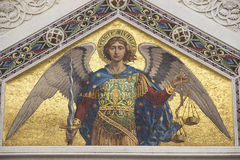 Mosaic of Saint Michael Stock Photography