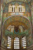 Mosaic in San Vitale Stock Photos