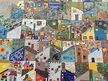 Mosaic in Santa Marta Stock Photos