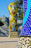 Mosaic Sculpture Garden,  California Royalty Free Stock Photos
