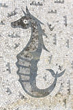 Mosaic seahorse Stock Photography