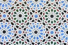 Mosaic. Seamless Arabesque Background. Floral texture Royalty Free Stock Photo