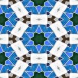 Mosaic seamless backgroun. Colored glass mosaic, seamless background Stock Photos