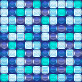 Mosaic seamless background Stock Images