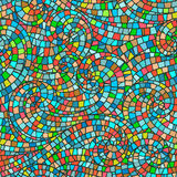 Mosaic seamless background Stock Photos