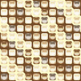 Mosaic seamless chocolate background Royalty Free Stock Photography