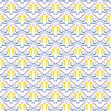 Mosaic seamless pattern Royalty Free Stock Image