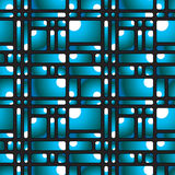 Mosaic seamless pattern. Royalty Free Stock Photography