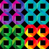 Mosaic seamless  pattern. Background in bright colors Royalty Free Stock Images