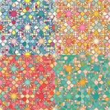 Mosaic Seamless Pattern Royalty Free Stock Photos