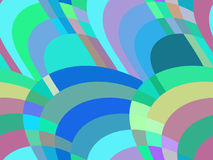 Mosaic seamless pattern. Abstract background of retro color. Vector. Illustration royalty free illustration